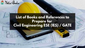 Civil Engineering IES / GATE study material